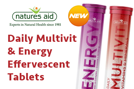 New Effervescents from Natures Aid