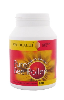 Pure Bee Pollen 500mg 100 caps