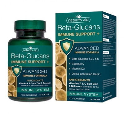 Beta Glucans Immune Support +  30 tabs