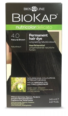 Natural Brown 4.0 Permanet Hair Dye 140ml