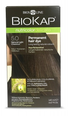 Natural Light Chestnut 5.0 Permanet Hair Dye 140ml