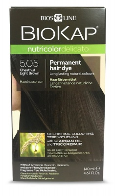 Chestnut Light Brown 5.05 Permanet Hair Dye 140ml