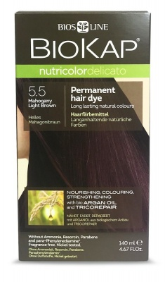 Mahogany Light Brown 5.5 Permanet Hair Dye 140ml