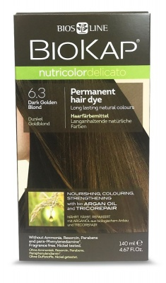 Dark Golden Blond 6.3 Permanet Hair Dye 140ml