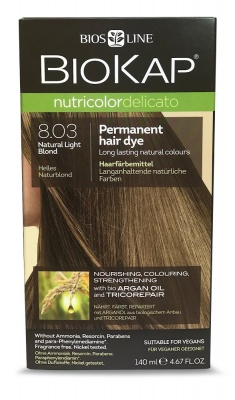 Natural Light Blond 8.03 Permanet Hair Dye 140ml