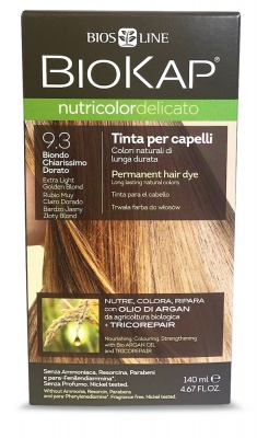 Extra Light Golden Blond 9.3 Permanet Hair Dye 140ml