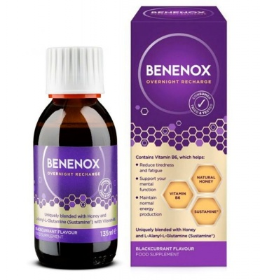 Benenox Blackcurrant 135ml