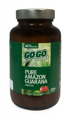 GoGo Guarana 500mg 100 tabs