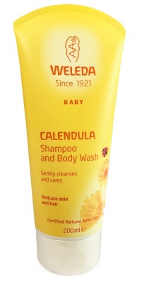 Calendula Shampoo and Body Wash 200ml