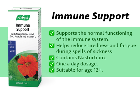 New A Vogel Immune Support