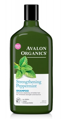 Avalon Organics Peppermint Shampoo 325ml
