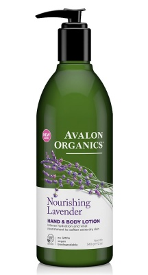 Avalon Organics Lavender H & B Lotion 350ml