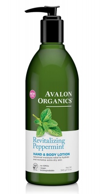 Avalon Organics Peppermint H & B Lotion 350ml