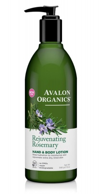 Avalon Organics Rosemary H & B Lotion 350ml
