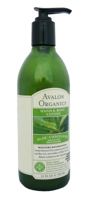 Avalon Organics Unscent H & B Lotion 350ml