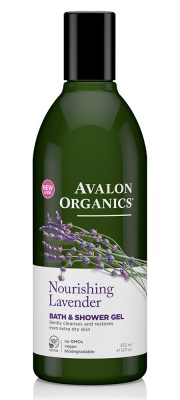 Avalon Organics Lavender Bath & Shower Gel 350ml