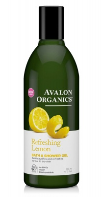 Avalon Organics Lemon Bath & Shower Gel 350ml