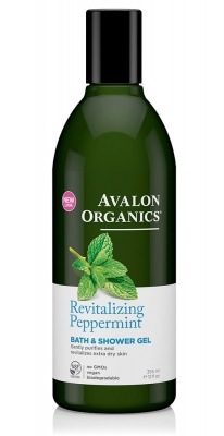 Avalon Organics Peppermint Bath & Shower Gel 350ml