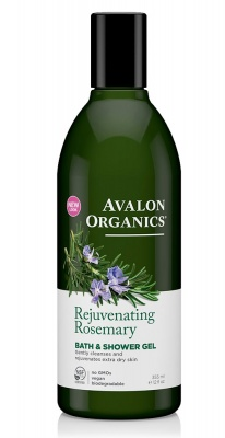Avalon Organics Rosemary Bath & Shower Gel 350ml