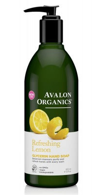 Avalon Organics Lemon Soap 350ml