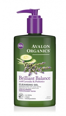 Avalon Organics Brilliant Balance Cleansing Gel 237ml
