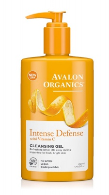 Avalon Organics Intense Defence Vit C Cleansing Gel 237ml
