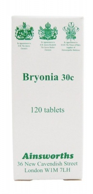 Ainsworths Bryonia 30c 120 tabs