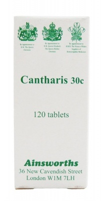 Ainsworths Cantharis 30c 120 tabs