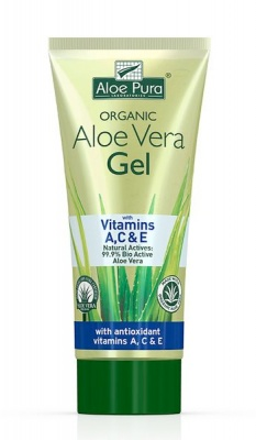 Aloe Pura Aloe Vera Gel with Vitamins A C & E 200ml