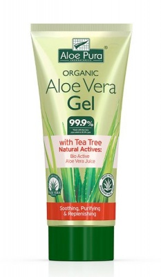 Aloe Pura Aloe Vera Gel with Tea Tree 200ml