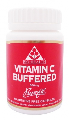 Bio Health Buffered Vitamin C 500mg 200 caps