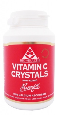 Bio Health Buffered Vitamin C Crystals 150g