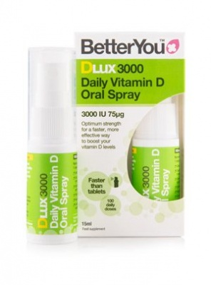 Better You DLux3000 Daily Oral D3 Spray