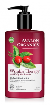 Avalon Organics Wrinkle Therapy Cleansing Milk 250ml