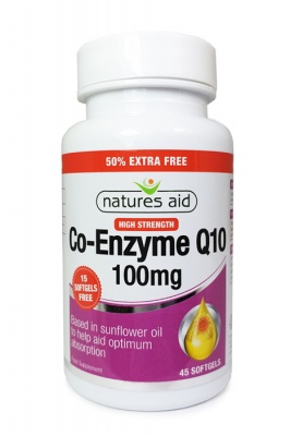 Co Q10 100mg 30 Softgels + 15 Free