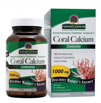 Natures Answer Coral Calcium 90 caps