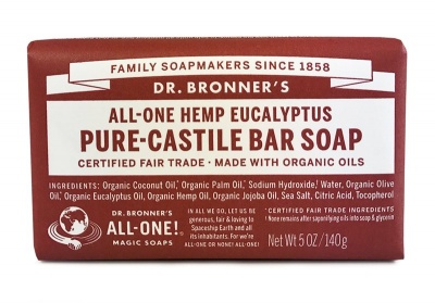 Eucalyptus Pure Castile Soap Bar 140g