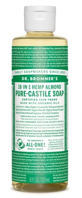 Almond Castile Liquid Soap 59ml