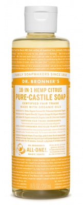 Citrus Castile Liquid Soap 473ml