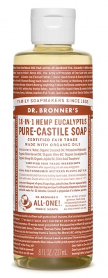 Eucalyptus Castile Liquid Soap 59ml