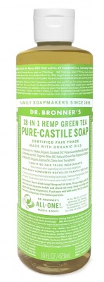Green Tea Castile Liquid Soap 473ml