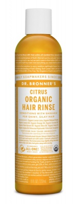 Dr Bronners Citrus Organic Hair Rinse 237ml