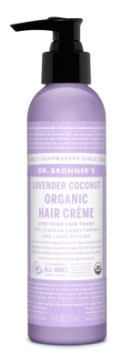 Dr Bronners Lavender Coconut Organic Hair Creme 177ml