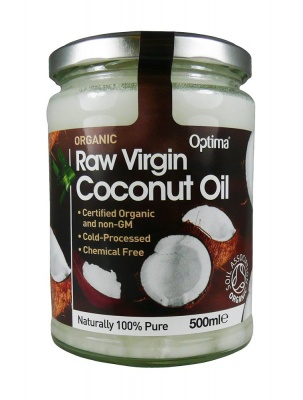 Organic Raw Virgin Coconut Oil 500ml