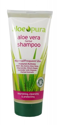 Aloe Pura Aloe Vera Herbal Shampoo - Normal 200ml