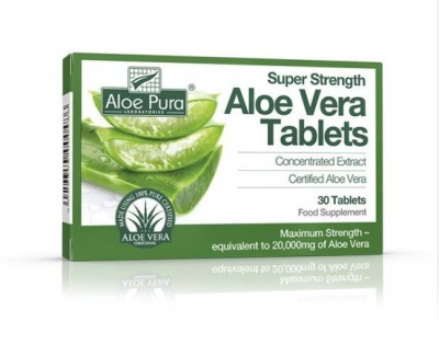 Super Strength Aloe Vera 60 tabs