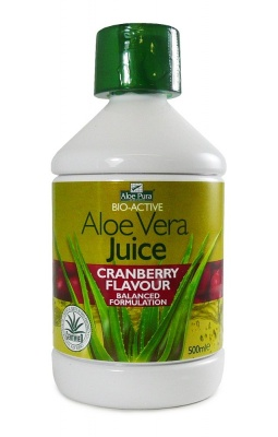 Aloe Pura Aloe Vera Juice Cranberry Flavour 500ml