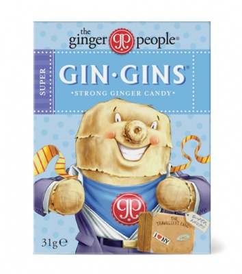 The Ginger People Gin Gins Super 31g