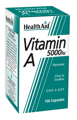Vitamin A 5000iu 100 caps