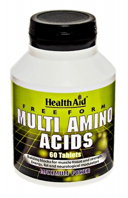 Health Aid Multi Amino Aids  60 tabs